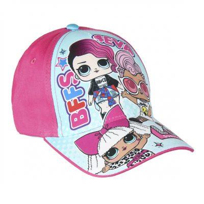 Cappellino con Visiera per Bambini in Olografico Surprise Berretto da Baseball Bambina Nero Rosa O Glitter Prodotto Ufficiale Accessori Bimba Bambole LOL Confetti Pop per L/'Estate L.O.L